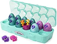 Hatchimals Colleggtibles, Jewelry Box Royal Dozen 12 Pack Egg Carton with 2 Exclusive (Styles May Vary)