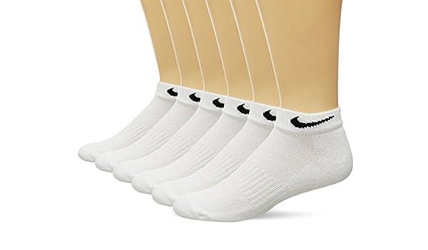 Nike Performance cojín Baja Altura Calcetines con Bolsa (6 Pares): Amazon.es: Deportes y aire libre