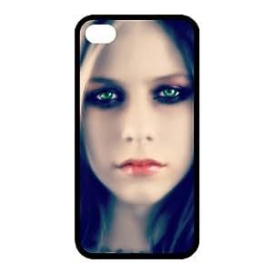 Custom Avril Back Case for iphone4,4S JN4S-161