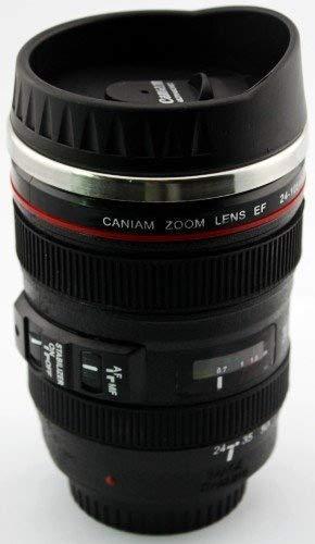 24 - 105 mm lente de Caniam cámara réflex digital de viaje taza de ...