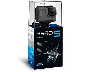 GoPro HERO5 Black - Cámara de acción (12 Mpx), Color Negro y Gris ...