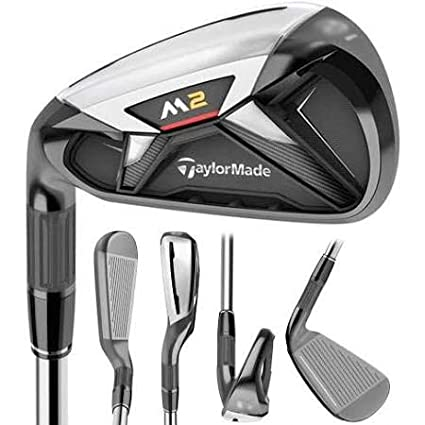 Amazon.com: Lefty New TaylorMade 2016 M2#8 Reax 88 Stiff ...