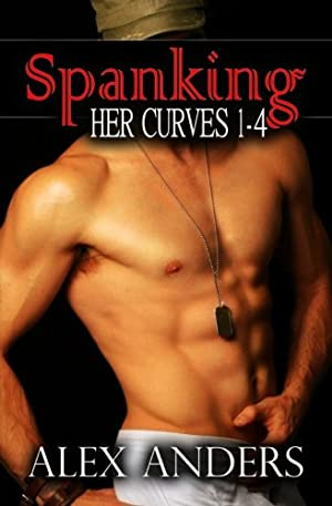 book cover of Spanking Her Curves 1-4