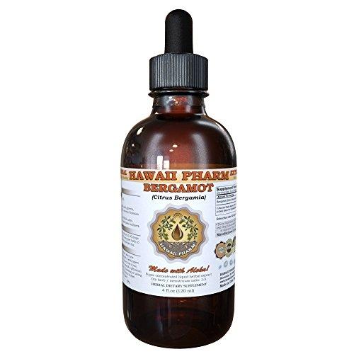 Bergamot Liquid Extract, Bergamot (Citrus Bergamia) Dried Fruit Peel Powder Tincture Supplement 2 oz Citrus Aurantium Fruit Extract