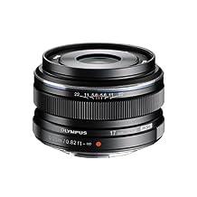 Olympus 17mm F1.8 Interchangeable Lens for Olympus/Panasonic Micro Cameras (Black)