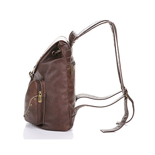 Dark 9 Marrone lycailcy Zainetto 10 2 Unica Brown 14 Borsa Lycailcy Light Inches 5 X Taglia Donna Lyc a05 A 5 2 ZPqYw1SW8