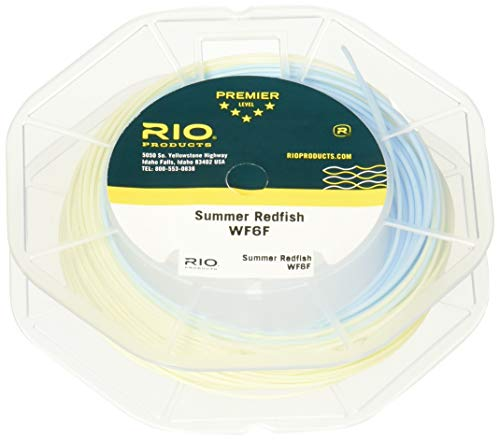 RIO Products Fly Line Summer Redfish Wf8F, Aqua-Blue-Sand
