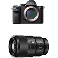 Sony a7R II Mirrorless Digital Camera w Sony FE 90mm F2.8 Macro Lens Bundle