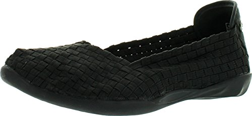 Bernie Mev Women's Braided Catwalk Black Flats - 39 M EU