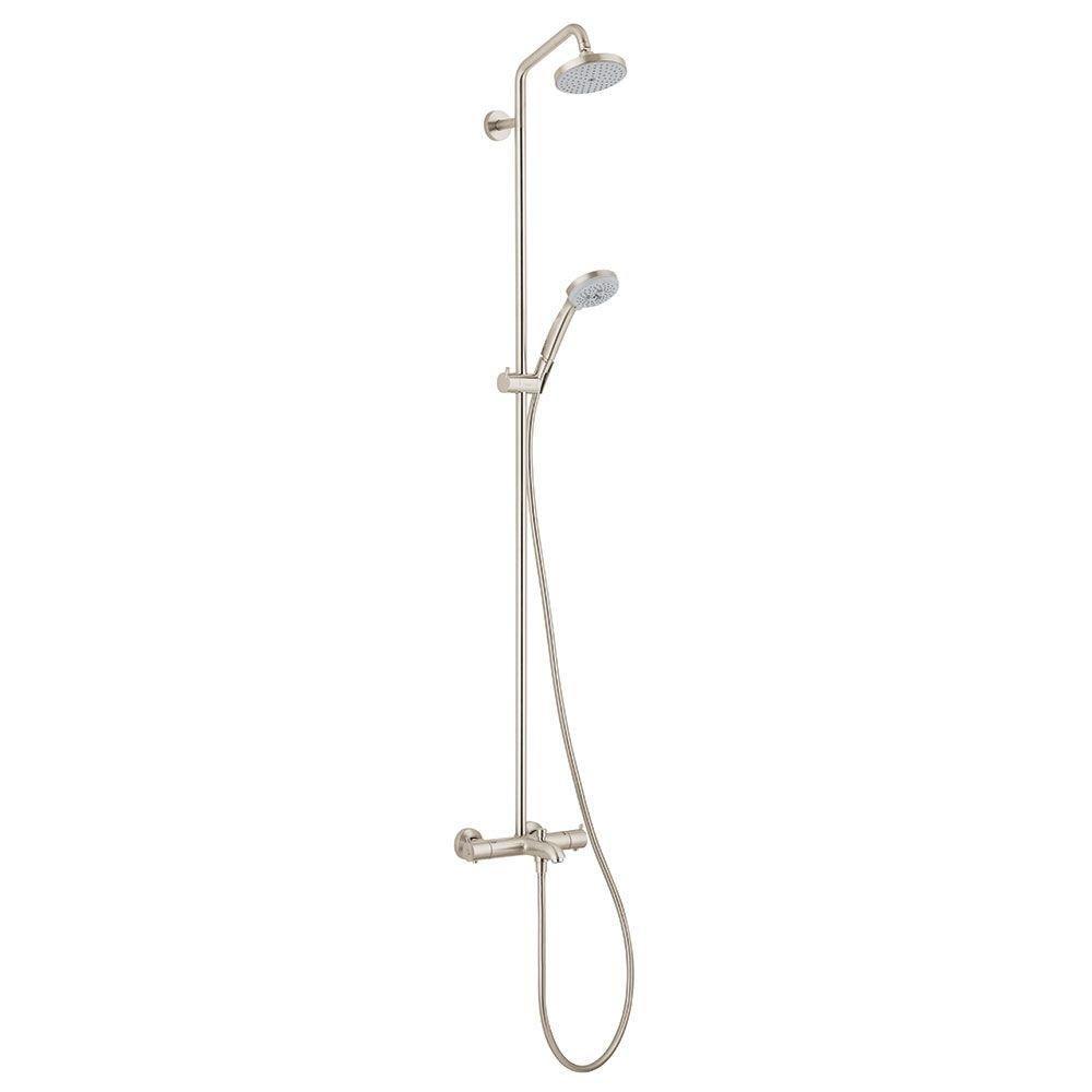 Hansgrohe 27143821 Showerpipe Tub/Shower, Brushed Nickel