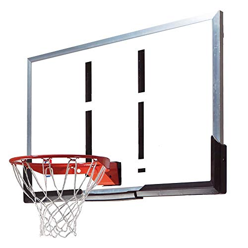 Spalding 54-Inch Backboard and Rim Combo with Acrylic - Rim Guard Stainless Steel