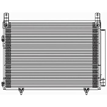 Amazon Toyota Highlander Replacement Ac Condenser Automotive. Toyota Highlander Replacement Ac Condenser. Toyota. Toyota Highlander 2003 Air Condition System Diagram At Scoala.co