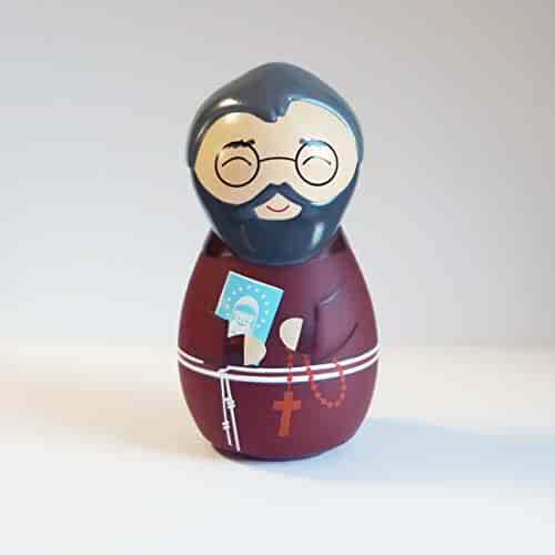 d30cc4699 Shining Light Dolls St. Maximilian Kolbe Collectible Vinyl Figure with  Story & Prayer Card