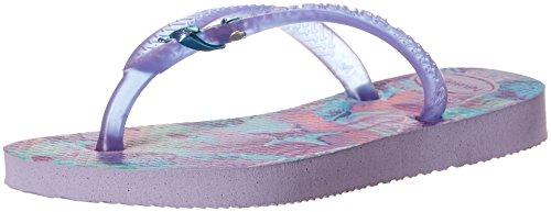 Havaianas Kids Slim Summer Sandal, Lavender 23/24 BR/Toddler (9 M US) - Image 1