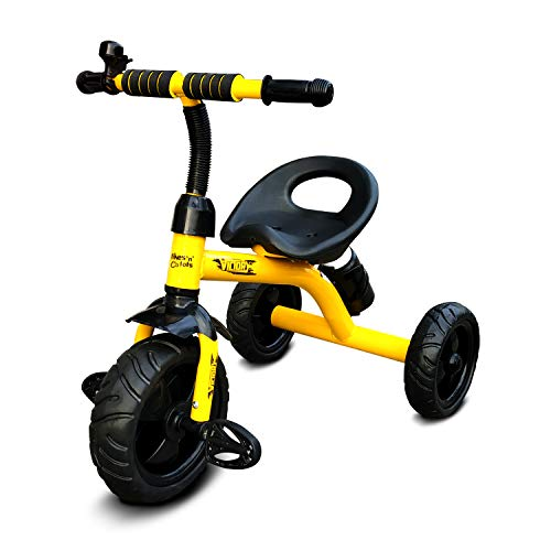 Gtoons Victory Tricycle for Recommended Ages 2 5 Years Kids/Baby  Yellow