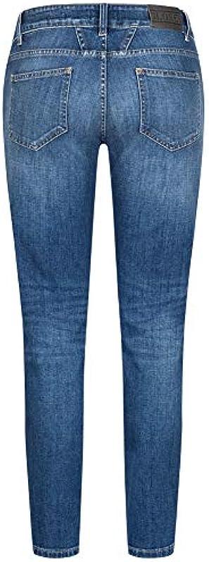 Closed Jeans Baker Long 28 średni niebieski: Odzież
