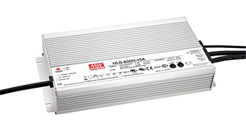 MW Mean Well HLG-600H-20 20V 28A 560W Single Output Switching LED Power Supply with PFC (560 Single)