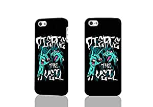 Pierce The Veil 3D Rough Case Skin, fashion design image custom , durable hard 3D case cover for iPhone 5C , Case New Design By Codystore wangjiang maoyi