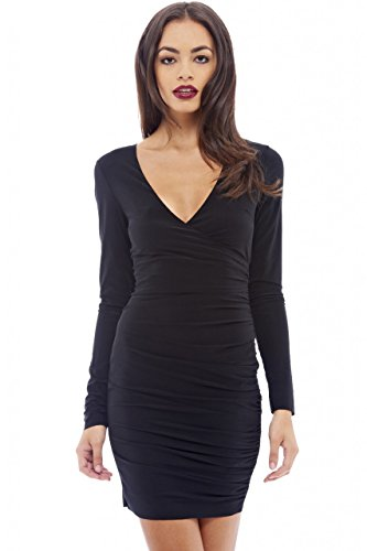 Ruched Front Dress - 6