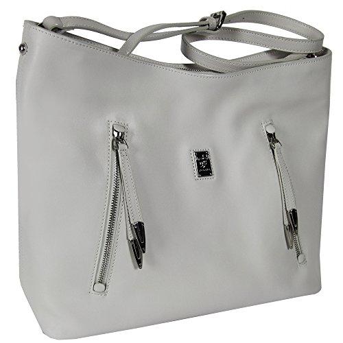 Piero Guidi borsa donna a spalla Lineabold Daytime pelle 113641054.98 bianca