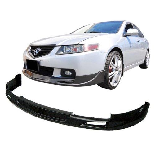 04-05 Acura TSX Type-2 Urethane Add-On Front Bumper Lip Spoiler Bodykit