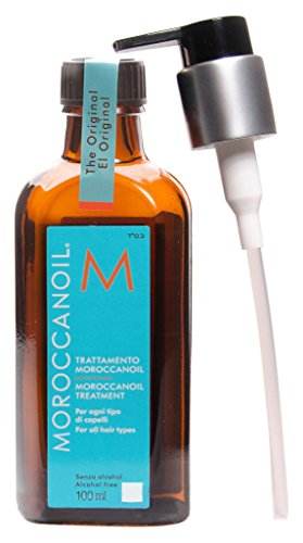 Moroccanoil Hair Treatment Bottle with Blue Box, 3.4 oz.