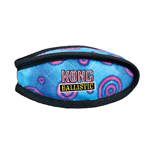 KONG Ballistic Football Dog Toy, Large, Assorted