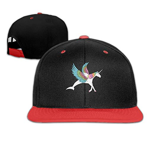 DH-MS Dress Dolphin, Pegasus, Unicorn Hybrid Hip-Hop Caps with Kids Hat Boys and Girl -