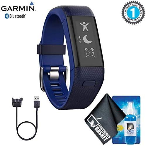 Garmin vivosmart HR+ Activity Tracker (Regular Midnight BlueBolt Blue) Base Accessory Kit / Garmin vivosmart HR+ Activity Tracker (Regular Midnight BlueBolt Blue) Base Accessory Kit