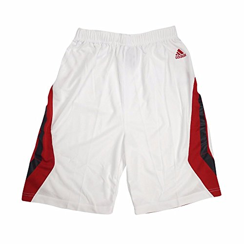 Youth Home Replica Basketball Shorts (adidas NC State Wolfpack NCAA White Official Home Replica Basketball Shorts For Youth (M))
