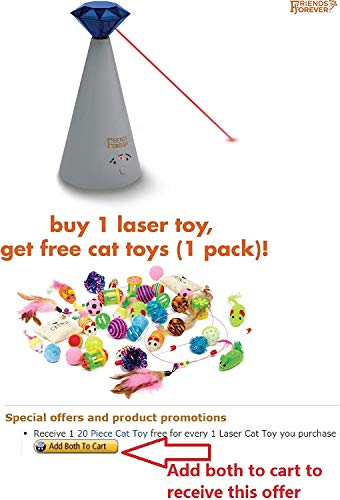 Friends-Forever-Interactive-Cat-Laser-Toy-Pet-Laser-Pointer-for-Cats-Automatic-Rotating-Catch-Training-Adjustable-3-Speed-Mode