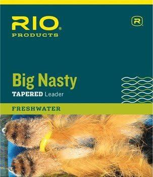 Rio Big Nasty フライフィッシングリーダー 6フィート 3パック