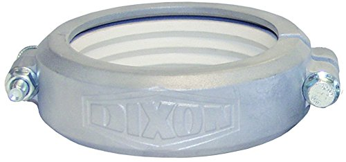 Dixon DBV-BL300 Alum Grooved Bolted Clamp with Bay Last Gasket, - Clamp Alum