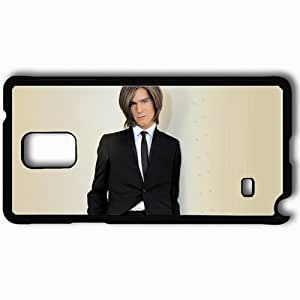 Personalized Samsung Note 4 Cell phone Case/Cover Skin Amaury Vassili Suit Jacket Tie Haircut Black