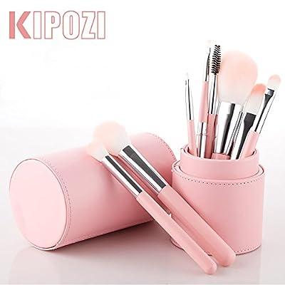 KIPOZI 8pcs Professional Makeup Brush Set Silky Soft Cosmetics Brushes Kit for Smooth Makeup Application