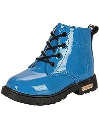 DADAWEN Boy's Girl's Waterproof Lace-Up Boots(Baby boy/Baby Girl/Toddler/Little Kid/Big Kid)