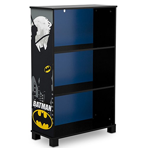 (Delta Children Deluxe 3 Shelf Book Case, DC Comics Batman)