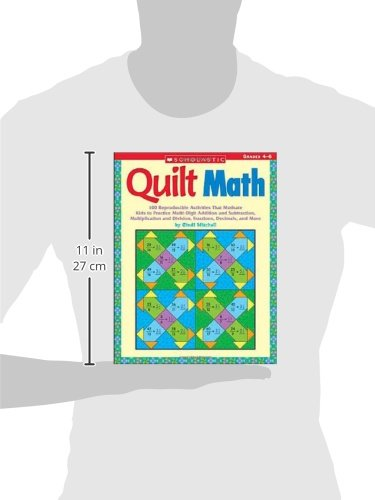Quilt Math: 100 Reproducible Activities That Motivate Kids to ...