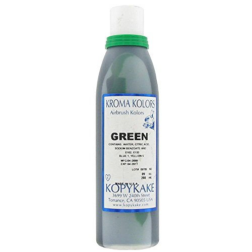 Kopykake KKGRE Green 9 Oz Kroma Kolor Bottle for Airgun Units (Kolor Green)