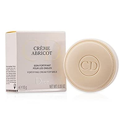Creme Abricot Fortifying Cream For Nails Women by Christian Dior, 0.35 Ounce