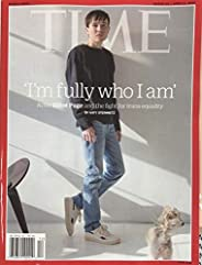 Time Magazine ( March 29 / April 5 , 2021 ) - Actor Elliot Page and the Fight for Trans Equality by Katy Stein