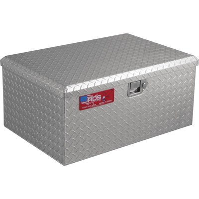Weatherproof Aluminum Diamond Plate Storage Container Box With Lock By Rds