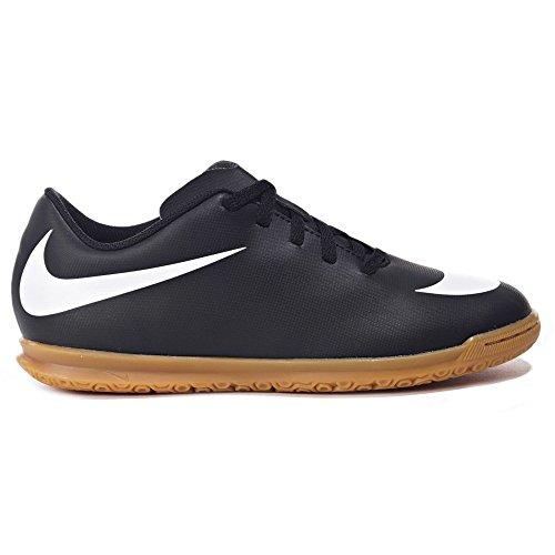 Nike Jr Bravatax II IC, Botas de Fútbol Unisex Bebé Negro (Black / White / Black 001)