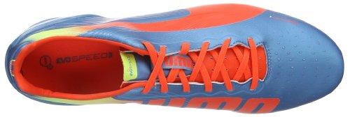 Puma evoSPEED 3.2 FG 102864 - Zapatillas de fútbol para hombre Sharks Blue/Fluro Orange/Fluro Yellow 5