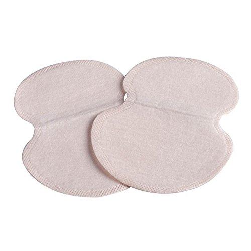 lzn 50 x axilas sudor Pads, desechables achselpads sudor manchas Color de piel absorbente suave: Amazon.es: Hogar