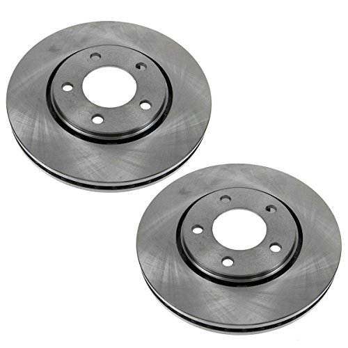 Front Brake Rotor Pair Set for Dodge Caravan Voyager Town & Country ()