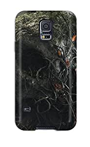 Hot High Grade MarvinDGarcia Flexible Tpu Case For Galaxy S5 - Desktop Artwork