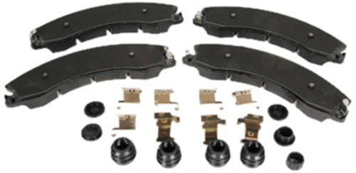 ACDelco 171-1079 GM Original Equipment Front Disc Brake Pad Kit with Brake Pads, Clips, Seals, Bushings, and Caps