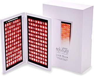 reVive Light Therapy-Look Book-Anti-Aging Facial Therapy Panel-FDA Cleared Red LED and Infrared Light Therapy Device