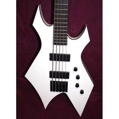 BC Rich Warlock 5 Signature gregoletto - Guitarra Bajo 5 cuerdas ocasión (+ funda): Amazon.es: Instrumentos musicales